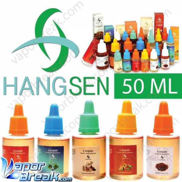 50ml Hangsen 70%PG+30%VG genuine e-liquid e-juice with Hangsen