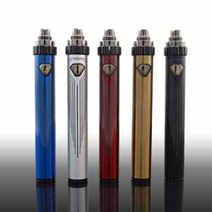 Vision Spinner 3s Top Twist USB Passthrough Battery with 1600mAh Capacity